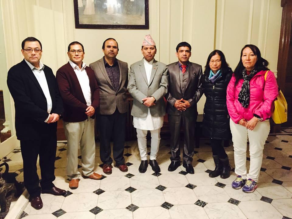 Photo of बेलायतमा साझा प्रकाशनको साहित्यिक सहयोग समिति गठन